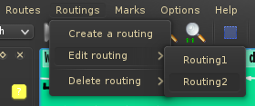 After pivoting, there is a new routing.