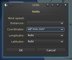 Select how to display number in QtVLM