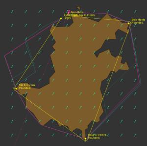 Different routes around principe