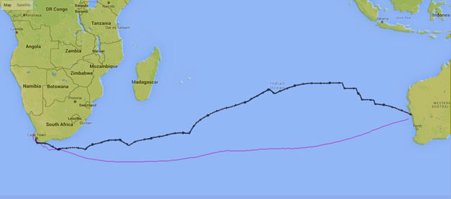 Geraldton-pilot-charts-and-final-route